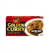 GOLDEN CURRY MIX EXTRA HOT 220G ゴールデンカレー大辛