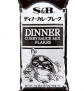 DINNER CURRY SAUCE MIX FLAKES WITH VEGETABLE OIL 1KG