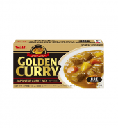 GOLDEN CURRY HOT 220G ゴールデンカレー辛口