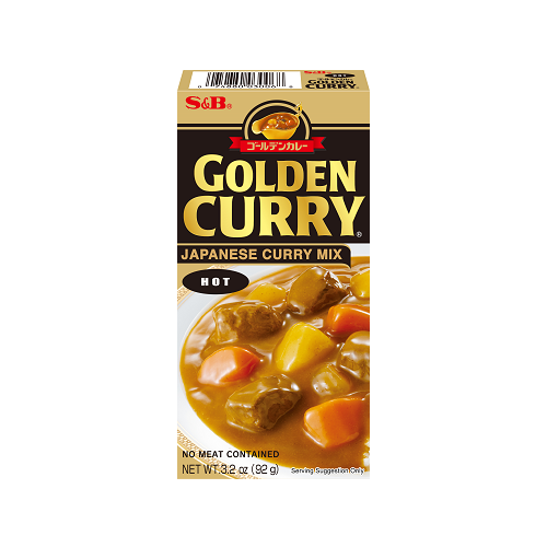 GOLDEN CURRY HOT 92G ゴールデンカレー辛口 92G