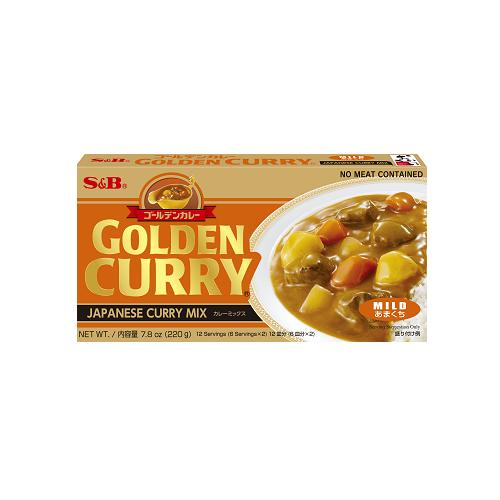 GOLDEN CURRY MILD 220G ゴールデンカレー甘口 220G