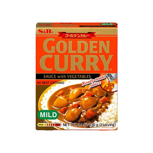 GOLDEN CURRY WITH VEGETABLES MILD (RETORT) 230G ゴールデンカレーレトルト甘口 230G